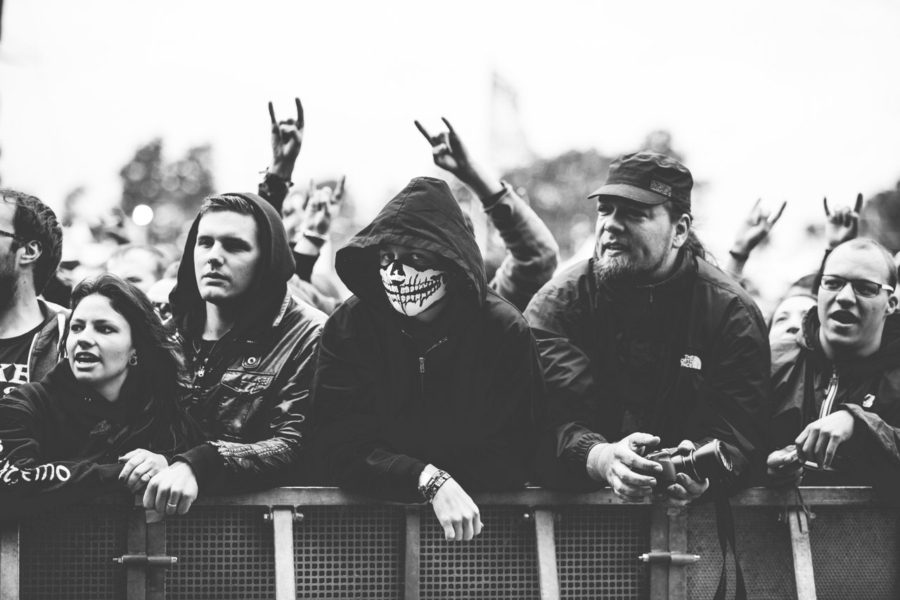 Front Row at Wacken Open Air 2015