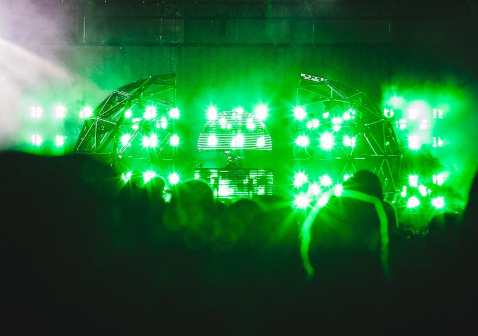 Deadmau5 at Hurricane Festival 2015