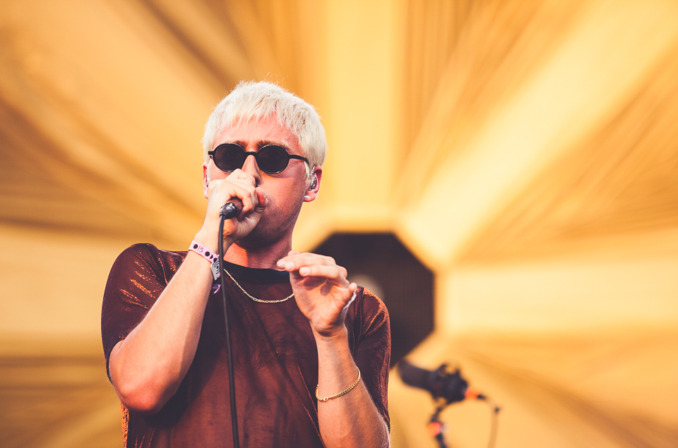 Bilderbuch beim Melt! Festival 2015