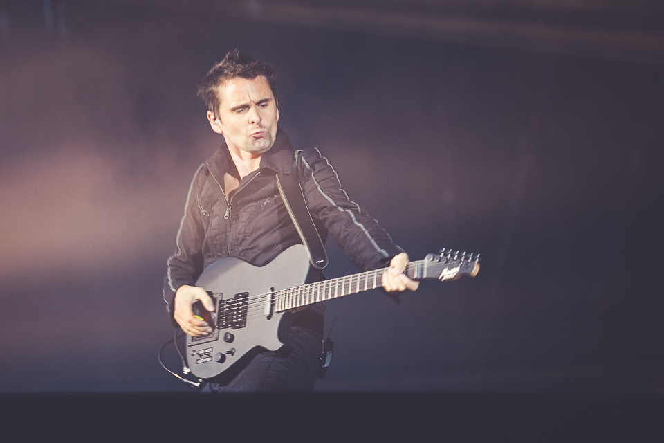 Muse performing at Lollapalooza Berlin 2015